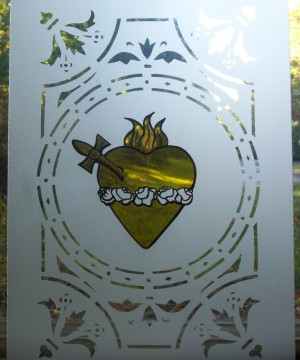 Sacred Heart - Detail, St-Angèle-de-Monnoir, Québec