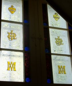 Transom windows 2 at St-Angèle-de-Monnoir, Québec